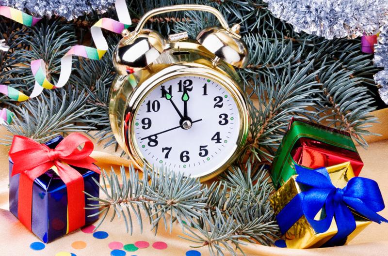 расписание на новогодние праздники