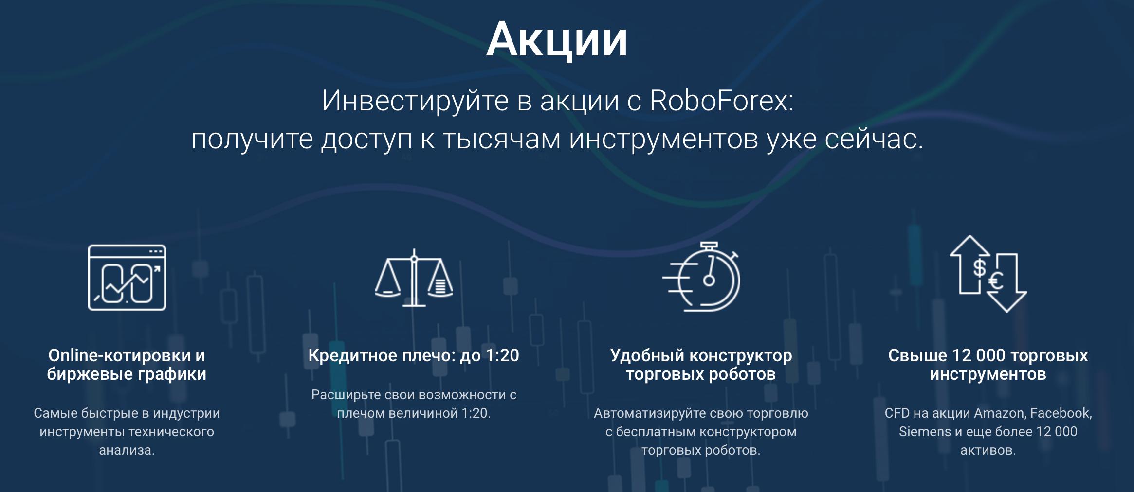 робофорекс акции