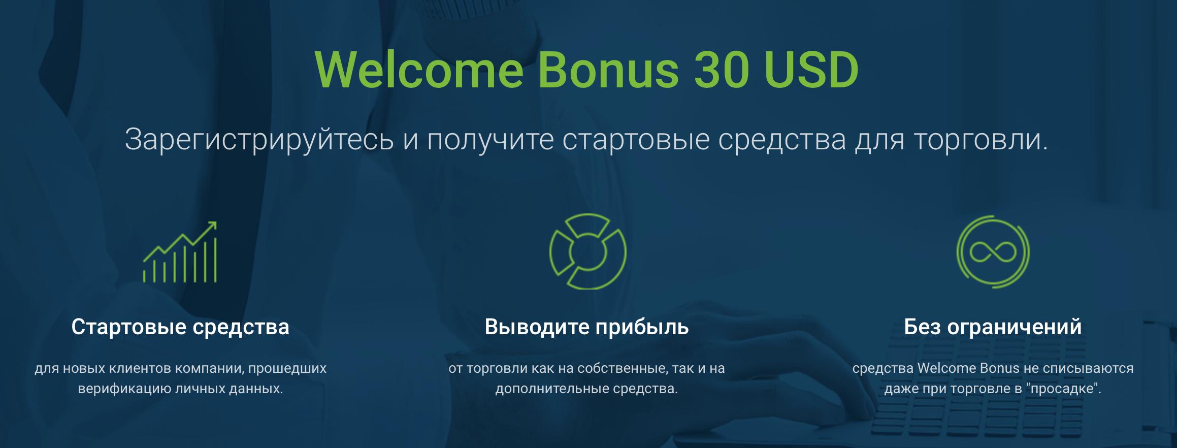 робофорекс бездепозитный бонусы